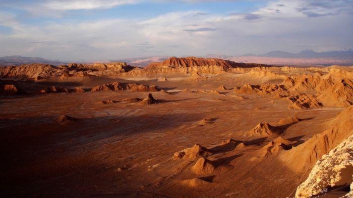 padang pasir kosong