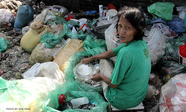 pagpag makanan sisa sampah filipina lebihan makanan terbuang hidangan 2