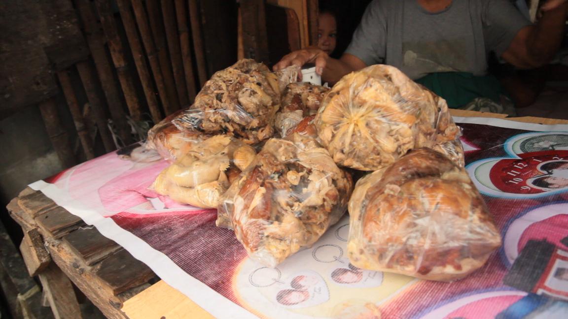 pagpag makanan sisa sampah filipina lebihan makanan terbuang hidangan 5