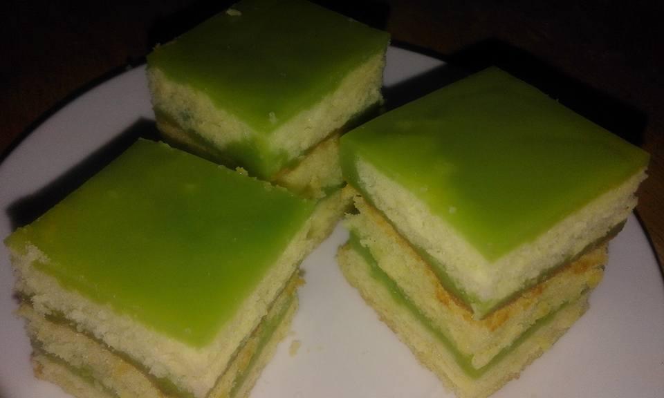 resepi pandan layer cake kegemaran ramai iluminasi Resepi Kek Kelapa Gebu Enak dan Mudah