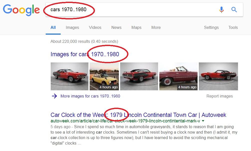panduan menggunakan google dengan lebih berkesan julat nombor