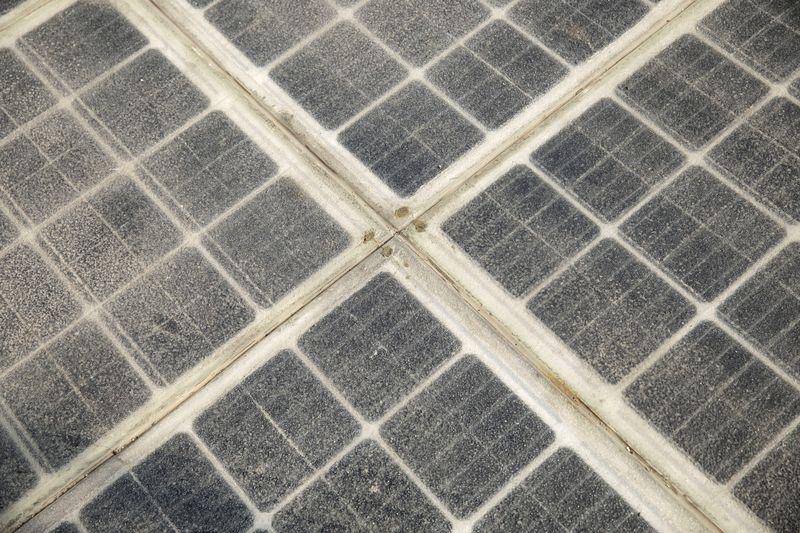 panel solar dalam percubaan