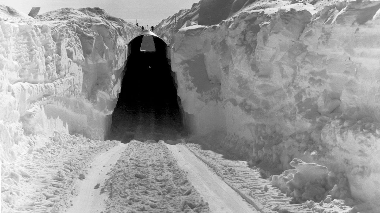 pangkalan nuklear bawah tanah