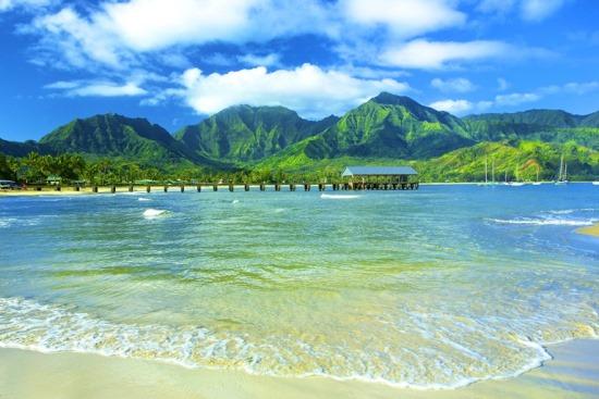 pantai hawaii kauai