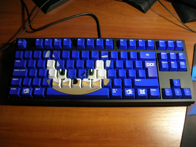 papan kunci sonic the keyboard