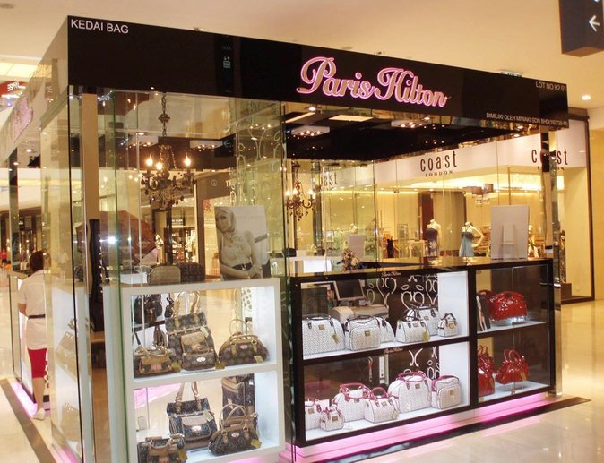 paris hilton handbags and accessories