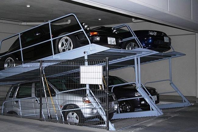 parkir bertngkat