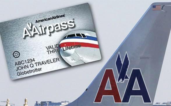 pas seumur hidup american airlines