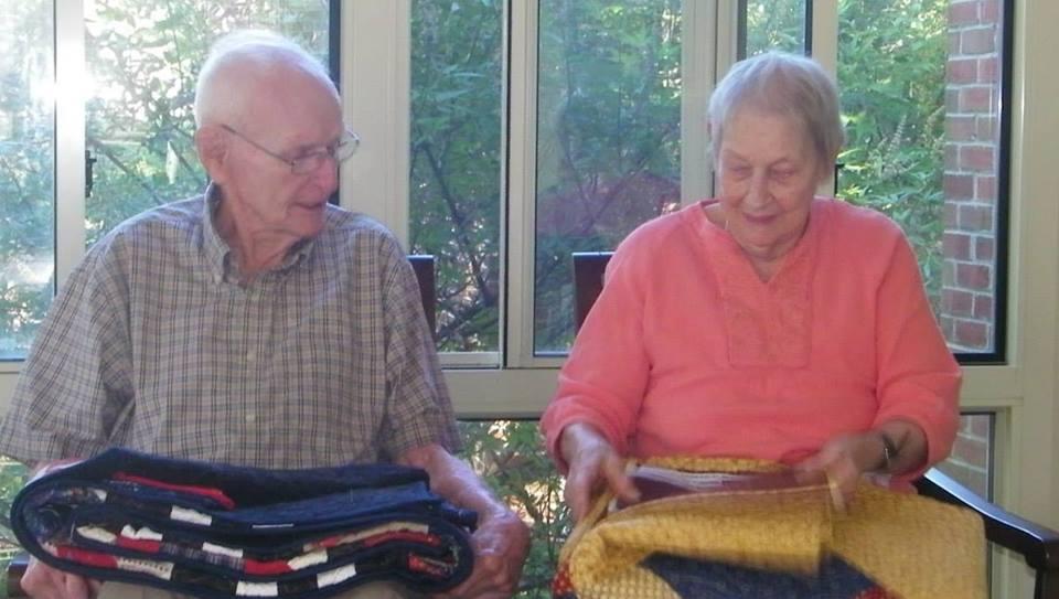 pasangan sweet telah berkahwin selama 70 tahun meninggal pada hari yang sama preble isabell 2
