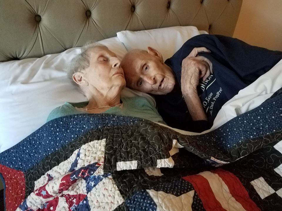 pasangan sweet telah berkahwin selama 70 tahun meninggal pada hari yang sama preble isabell 4