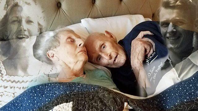 pasangan sweet telah berkahwin selama 70 tahun meninggal pada hari yang sama preble isabell