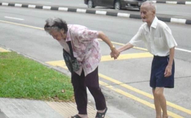 pasangan tua singapura