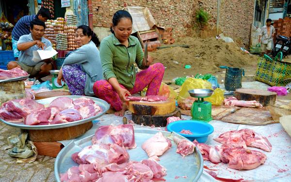 pasar tani market jual babi saigon 991