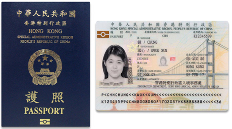 passport hksar hong kong