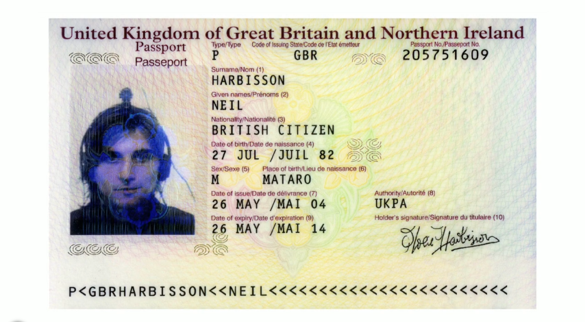 passport neil harbisson