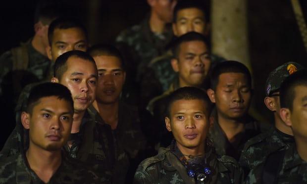 pasukan penyelamat thailand kes hilang di gua