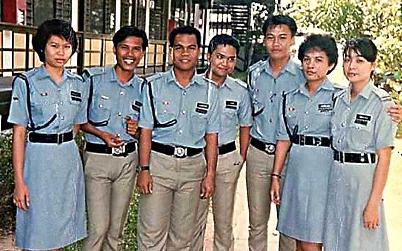 pasukan polis 80 an