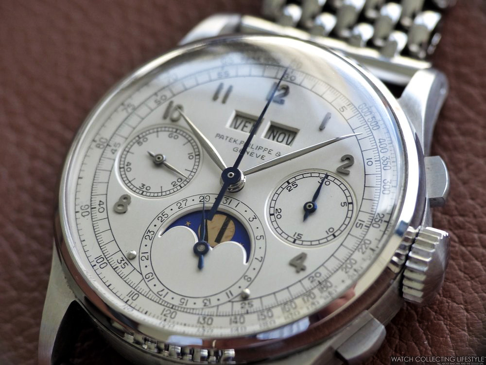 patek philippe ref 1518 in stainless steel