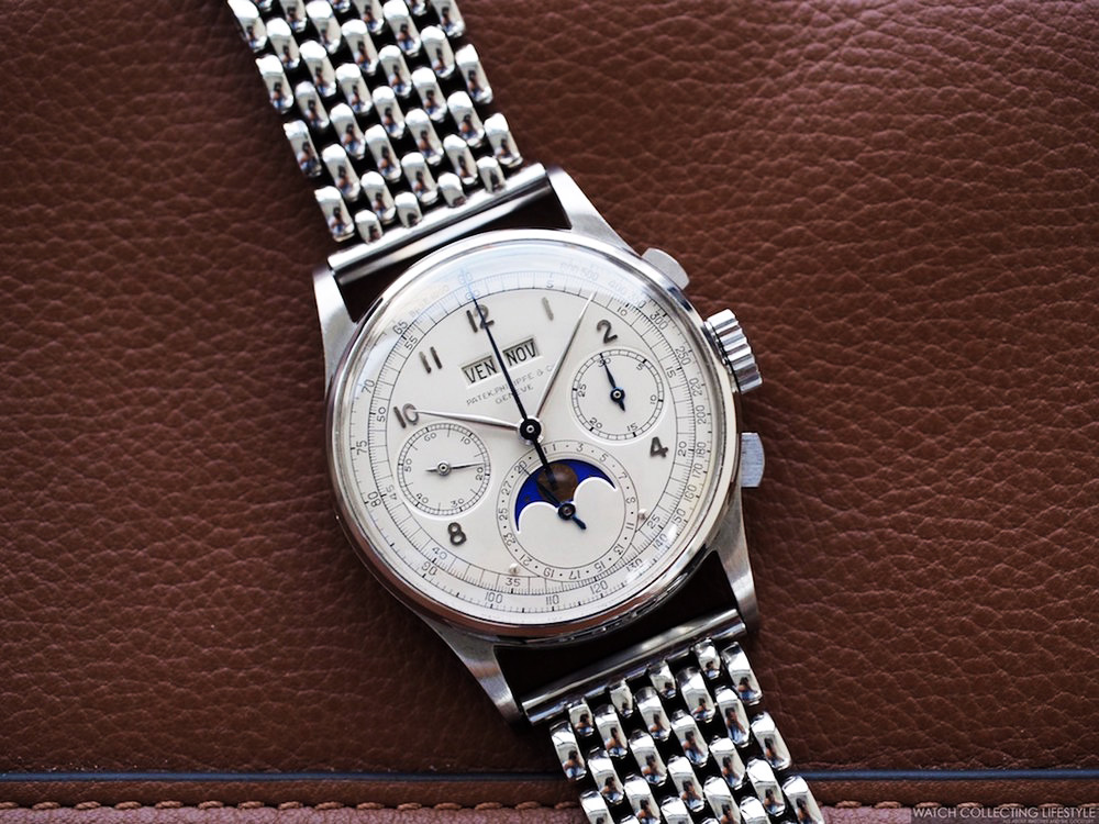 patek philippe ref 1518 in stainless steel6