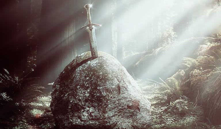 pedang excalibur