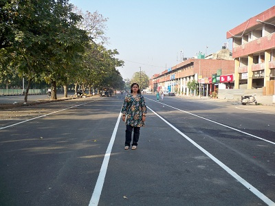 pedestrian in chandigarh