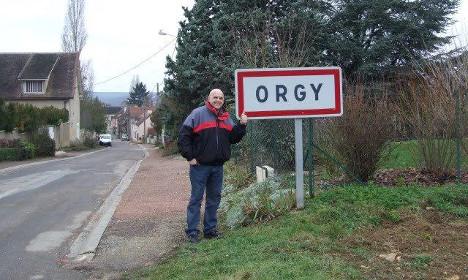 pekan bernama orgy di perancis