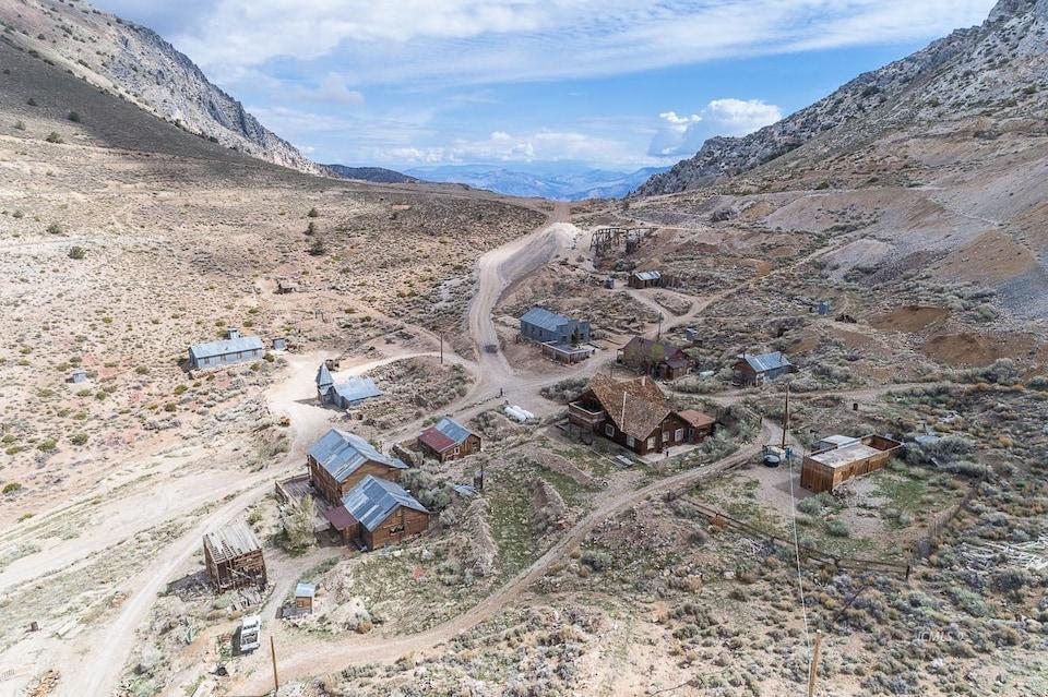 pekan cerro gordo daripada udara pekan kosong lama