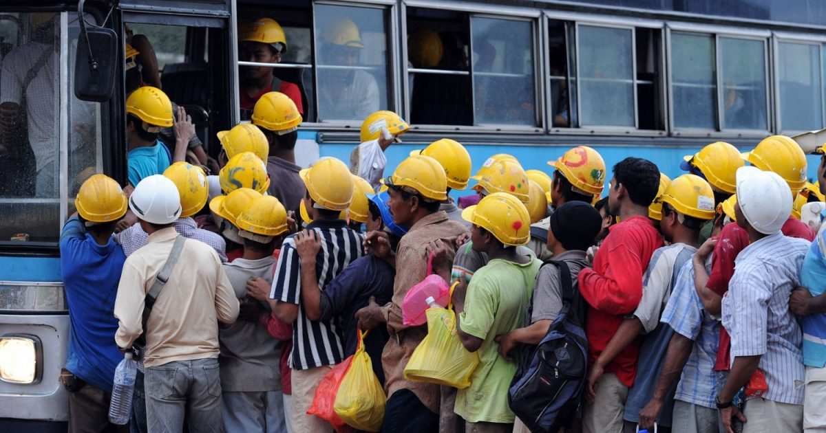 pekerja asing india agak kurang kebersihan