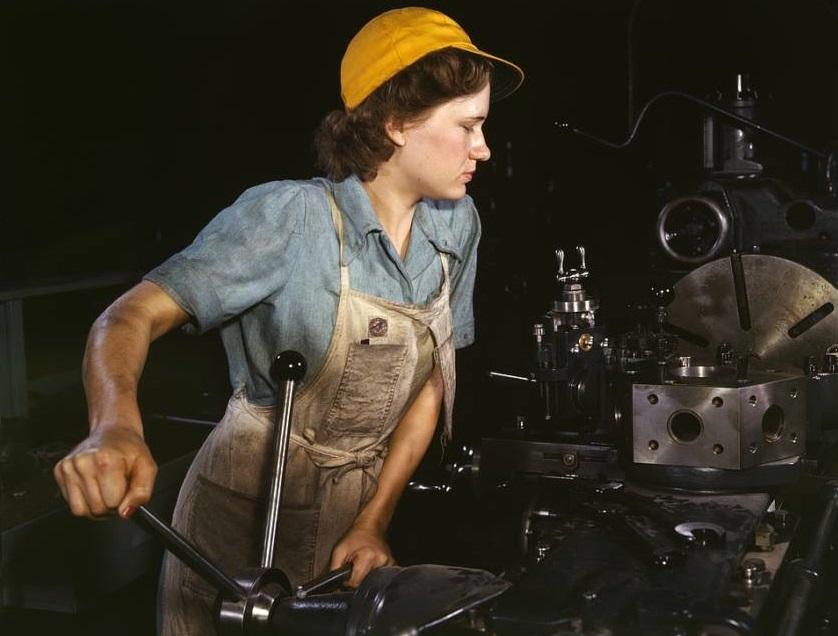 pekerja kilang wanita ketika perang dunia kedua 780