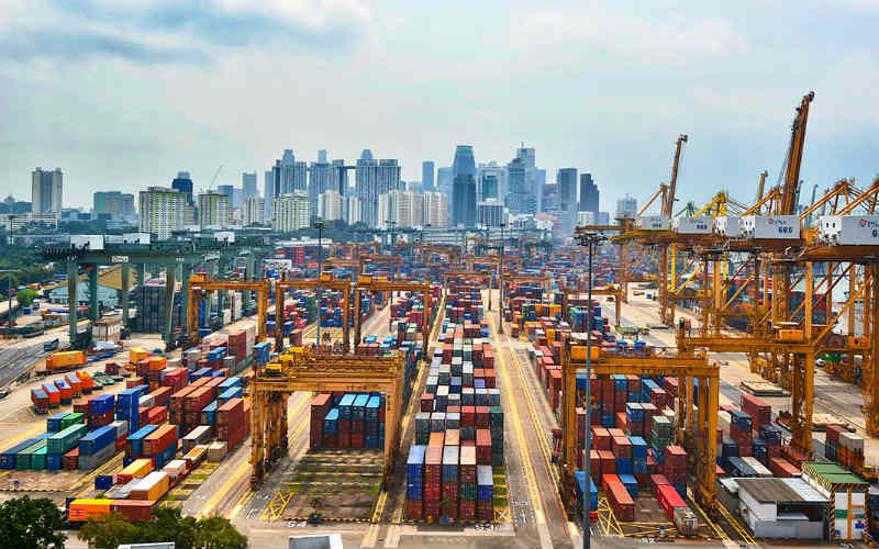 pelabuhan singapura pemacu ekonomi