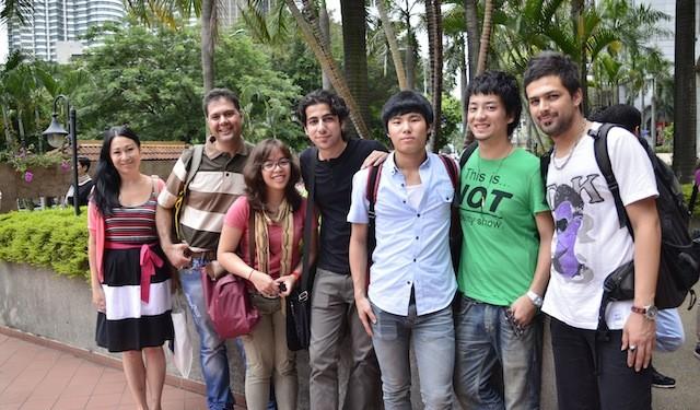pelajar asing di malaysia