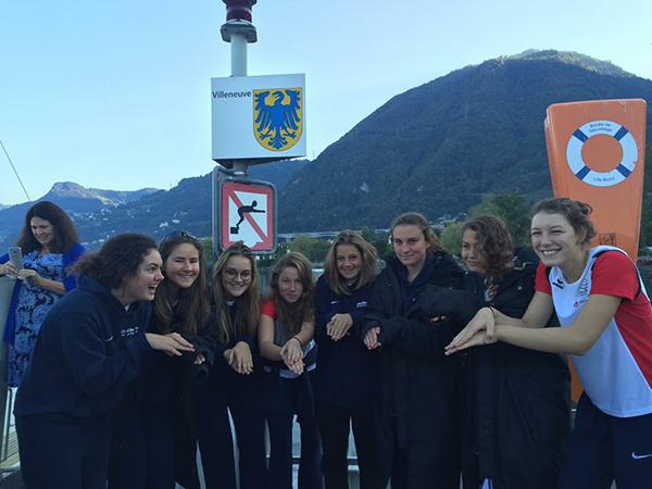 pelajar le rosey berenang sepanjang english channel untuk mengutip dana