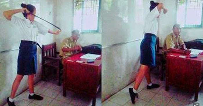 pelajar makin ramai yang kurang ajar dan biadap terhadap guru salah siapa