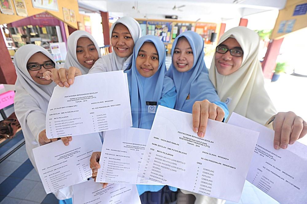 pelajar sekolah menengah kebangsaan puteri wilayah