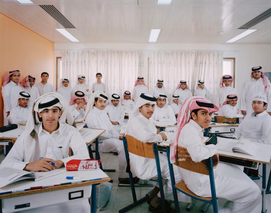 pelajar sekolah menengah sains lelaki di doha qatar