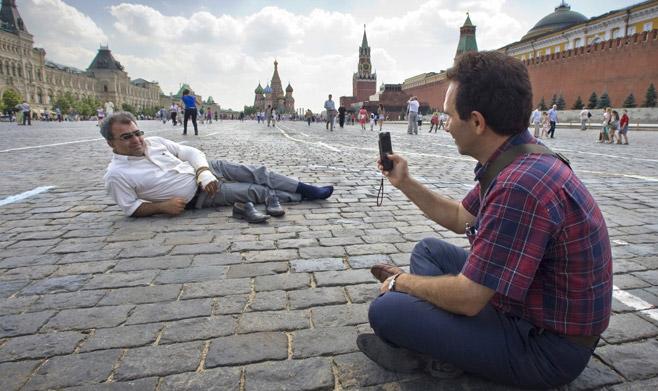pelancong russia paling teruk