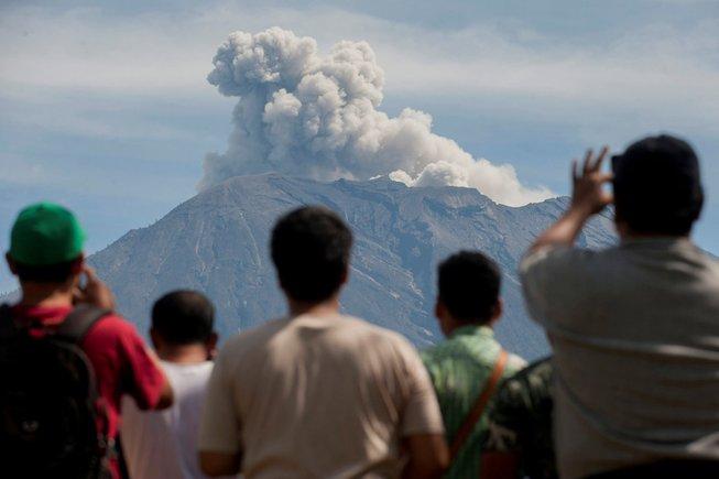 pelancongan gunung berapi