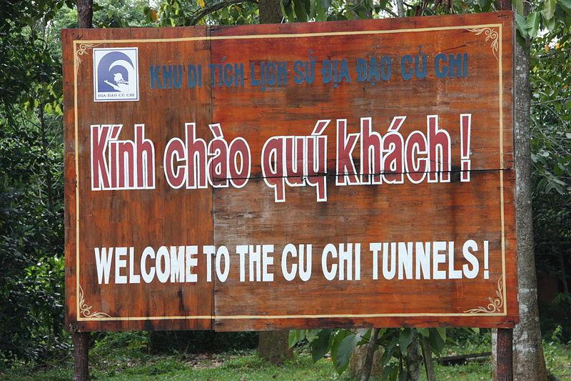 pelancongan ke terowong cu chi