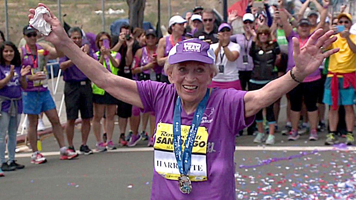 pelari marathon paling tua