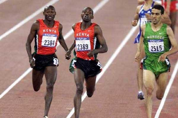 pelari olimpik kenya terpantas 1000 meter