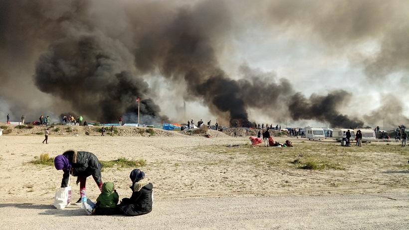 pelarian melihat kebakaran 602