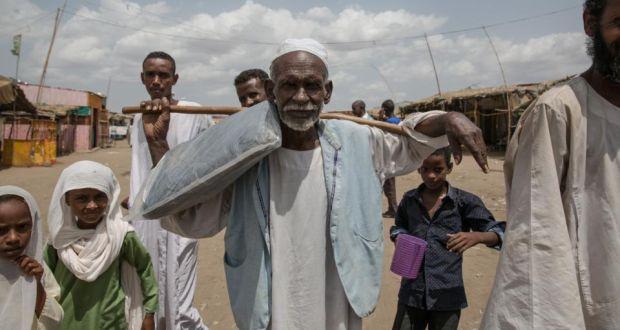 pelarian sudan