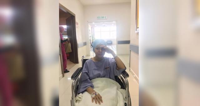 pelawak jihan muse masuk hospital jalani pembedahan 1