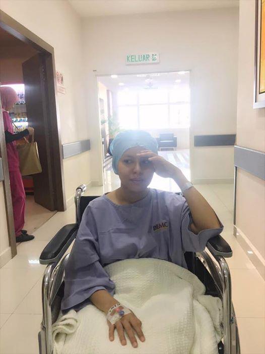 pelawak jihan muse masuk hospital jalani pembedahan 2