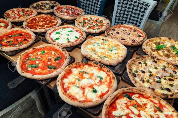 pelbagai jenis piza