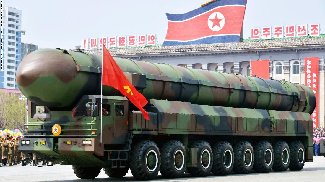 peluru berpandu korea utara