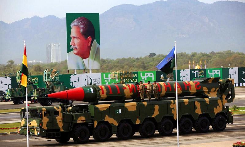 peluru berpandu pakistan the shaheen iii