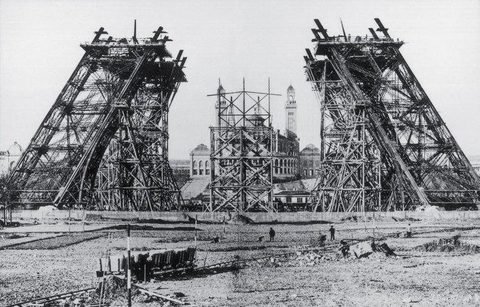pembinaan menara eiffel