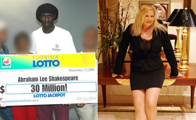 pemenang loteri nombor ekor yang terkena sumpahan abraham shakespeare dibunuh