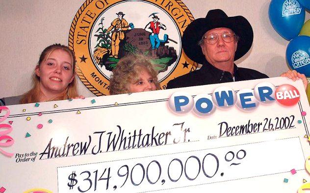 pemenang loteri nombor ekor yang terkena sumpahan andrew whittaker
